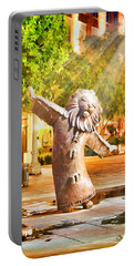 Lion Fountain Portable Battery Charger