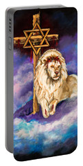 Lion Of Judah Original Painting Forsale Portable Battery Charger