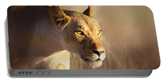 Lioness Portrait-1 Portable Battery Charger