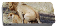 Lions Mating Portable Battery Charger
