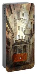 Lisbon Streetcar Portable Battery Charger