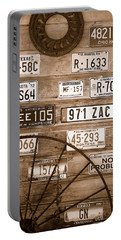 Liscensed Shed Wall Portable Battery Charger by Holly Blunkall