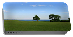 Portable Battery Charger featuring the photograph Listening To The Breeze  by Neal Eslinger