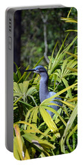 Portable Battery Charger featuring the photograph Little Blue Heron by Robert Meanor