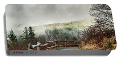 Portable Battery Charger featuring the photograph Little Cataloochee Overlook In The Great Smoky Mountains by Debbie Green