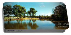 Portable Battery Charger featuring the photograph Little Creek by Angela DeFrias