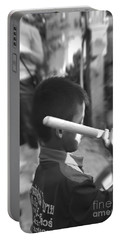 Portable Battery Charger featuring the photograph Little Drummer by Michelle Meenawong