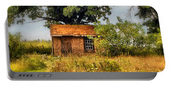 Portable Battery Charger featuring the photograph Little House On The Prairie by Peggy Franz