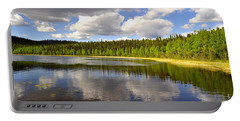 Portable Battery Charger featuring the photograph Little Lost Lake by Cathy Mahnke