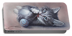Little Mischief Portable Battery Charger by Cynthia House