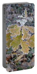 Portable Battery Charger featuring the photograph Little Oak by Felicia Tica