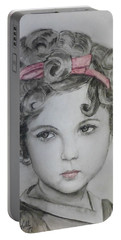 Little Shirley Temple Portable Battery Charger