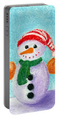 Little Snowman Portable Battery Charger