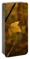 Little Yellow Leaf Portable Battery Charger