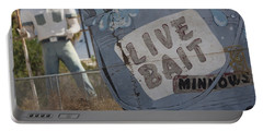 Live Bait And The Man Portable Battery Charger