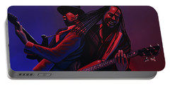 Living Colour Painting Portable Battery Charger