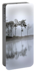 Loch Ard Trees In The Mist Portable Battery Charger
