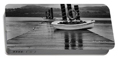 Loch Lomond Portable Battery Charger by Eunice Gibb