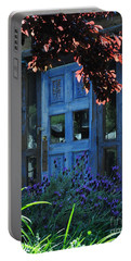 Locked Blue Door  Portable Battery Charger