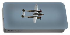Lockheed P 38 Lightning Portable Battery Charger by Richard J Cassato