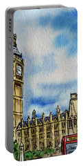 London England Big Ben Portable Battery Charger