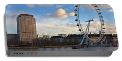 London Eye And Shell Building Portable Battery Charger