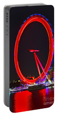 London Eye Red Portable Battery Charger