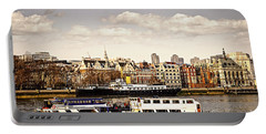 London From Thames River Portable Battery Charger