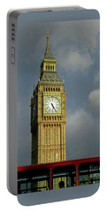 Portable Battery Charger featuring the photograph London Icons by Ann Horn