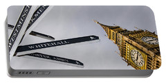 London Street Signs Portable Battery Charger