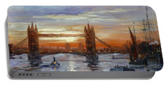 London Tower Bridge Portable Battery Charger