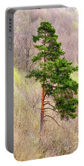Portable Battery Charger featuring the photograph Lone Pine by Les Palenik