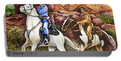 Lone Ranger And Tonto Ride Again Portable Battery Charger