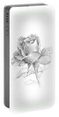 Lone Rose Portable Battery Charger
