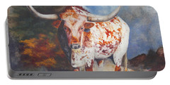 Lone Star Longhorn Portable Battery Charger