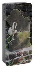 Portable Battery Charger featuring the photograph Lone Stone by Patricia Greer