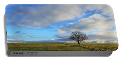 Lone Tree At Epsom Downs Uk Portable Battery Charger