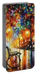 Loneliness Of Autumn Portable Battery Charger