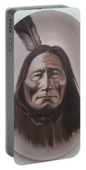 Long Bear Portable Battery Charger by Michael  TMAD Finney