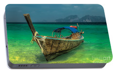 Longboat Portable Battery Charger by Adrian Evans