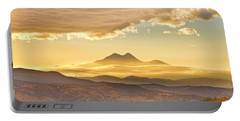 Longs Peak Autumn Sunset Portable Battery Charger