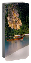 Longtail Boat In Ton Sai Bay, Phi Phi Portable Battery Charger