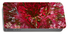 Look Deep Into My Heart Portable Battery Charger
