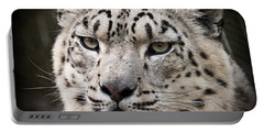 Look Into My Leopard Eyes Portable Battery Charger