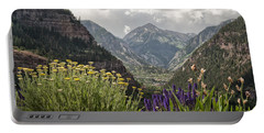 Looking Down On Ouray Colorado Portable Battery Charger