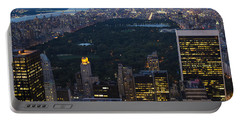 Looking From Top Of The Rock Portable Battery Charger