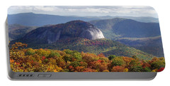 Looking Glass Rock And Fall Folage Portable Battery Charger