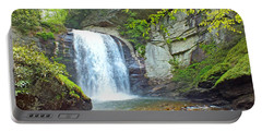 Looking Glass Waterfall In The Spring 2 Portable Battery Charger