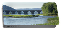 looking north at the Rockville Bridge   # Portable Battery Charger
