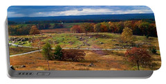 Looking Over The Gettysburg Battlefield Portable Battery Charger